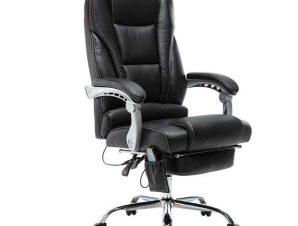 Πολυθρόνα Γραφείου Massage-Relax BF9350 ΕΟ284,1 68×64-135×118/127cm Black