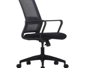 Πολυθρόνα Γραφείου BF2115 ΕΟ263,1 58x62x91/99cm Black