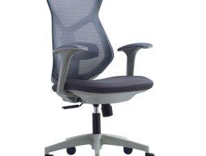 Πολυθρόνα Γραφείου BF3000 ΕΟ530 66x64x100/112cm Grey