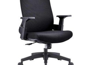 Πολυθρόνα Γραφείου BF8950 ΕΟ529,10 64x64x98/110cm Black