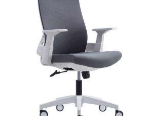 Πολυθρόνα Γραφείου BF8950 ΕΟ529,30 64x64x98/110cm White-Grey
