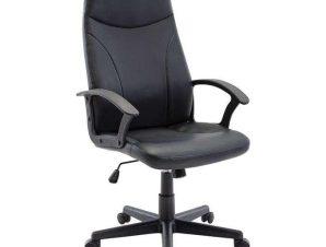 Πολυθρόνα Γραφείου Διευθυντική BF1250 ΕΟ527,1 60x64x108/120cm Black