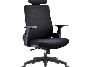 Πολυθρόνα Γραφείου Διευθυντική BF8900 ΕΟ528,10 64x66x116/128cm Black