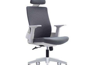 Πολυθρόνα Γραφείου Διευθυντική BF8900 ΕΟ528,30 64x66x116/128cm White-Grey