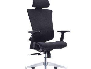 Πολυθρόνα Γραφείου Διευθυντική BF9600 ΕΟ589,1 68x68x120/130cm Black