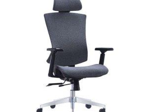 Πολυθρόνα Γραφείου Διευθυντική BF9600 ΕΟ589,2 68x68x120/130cm Grey