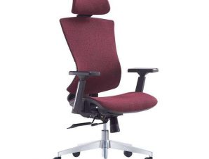 Πολυθρόνα Γραφείου Διευθυντική BF9600 ΕΟ589,3 68x68x120/130cm Bordeaux