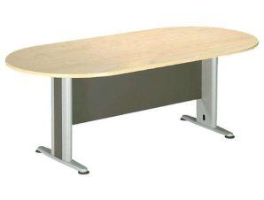 Τραπέζι Συνεδρίου ΕΟ131,1 240x120x75cm Dark Grey-Beech