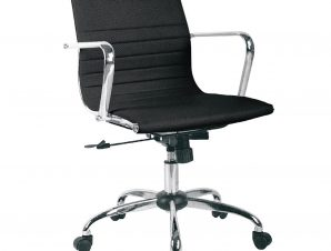 Καρέκλα Γραφείου BF4501 Black EO218.7 54x52x87/95 cm