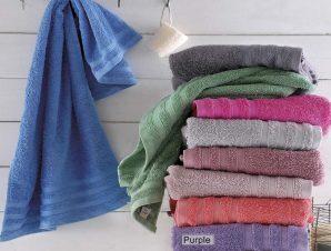 Πετσέτες Σετ 5 τμχ Lagoon 9 Purple Ρυθμός Σετ Πετσέτες