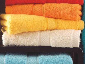 Πετσέτα Basic Yellow Ρυθμός Προσώπου 50x100cm