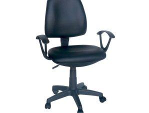 Καρέκλα Γραφείου Bs750 Black 01-0677 60X55X91/103 cm