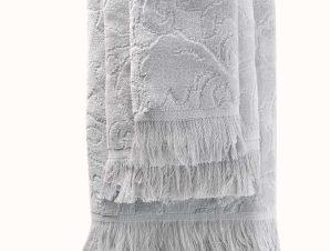 Πετσέτες Σετ 5 τμχ Sienna Light Grey Ρυθμός Σετ Πετσέτες
