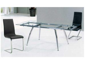 Τραπέζι Sotris Clear 09-0466 125X80 cm